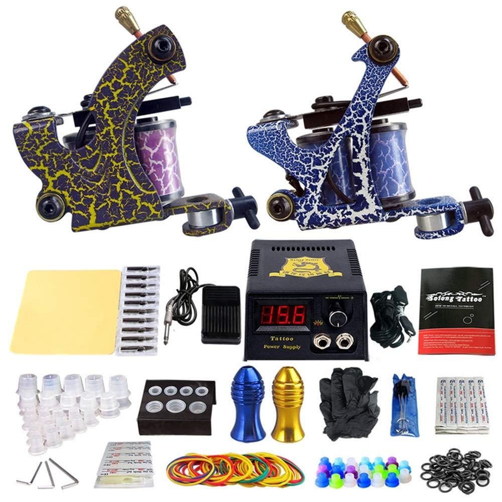 Professional Tattoo Set Full Set of Tattoo Equipment High-end Tattoo Machine Gun by KUKUDEWENSHEN