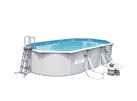 Best Way 1571260031 - piscina oval hydrium 610x36 cm
