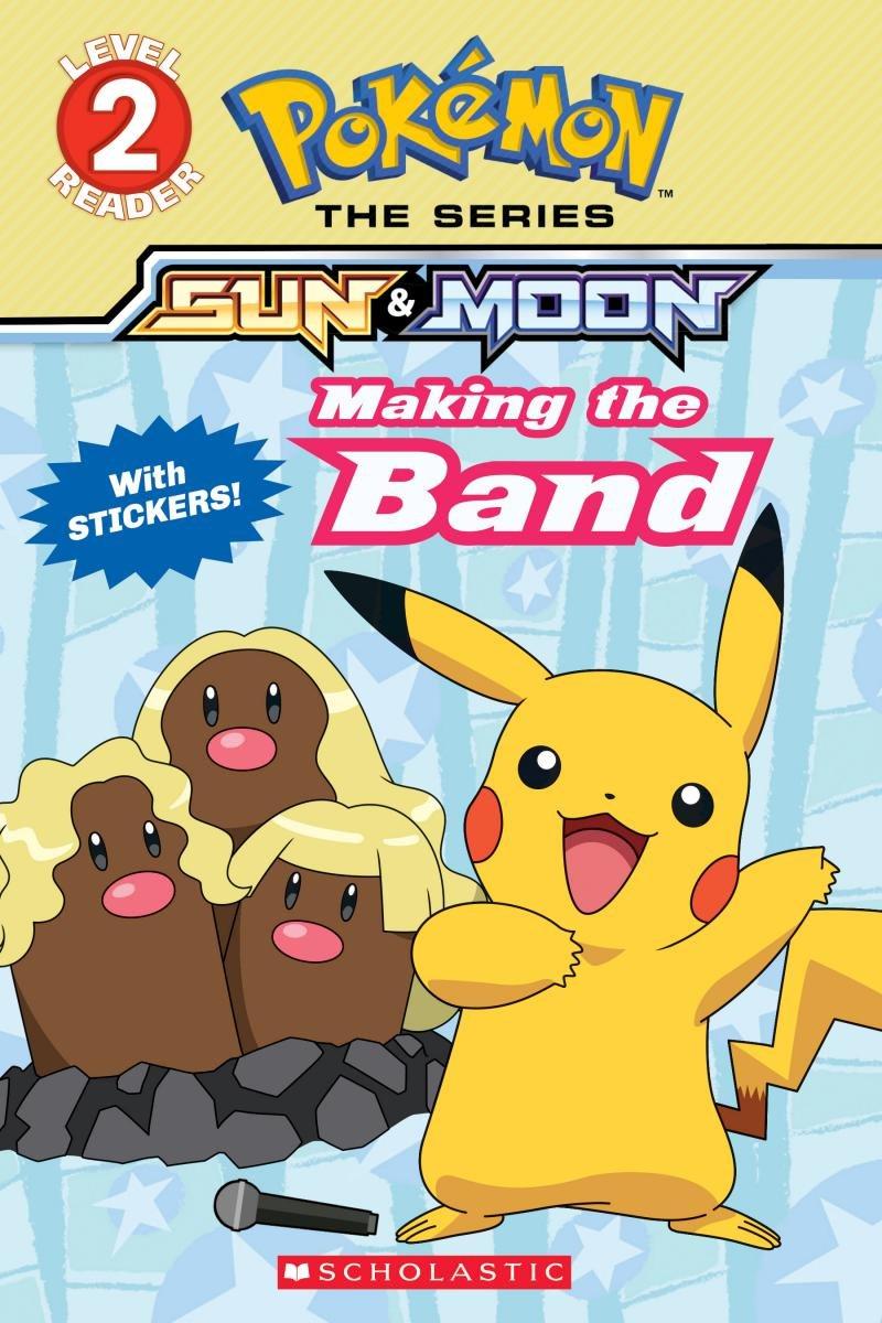 Making the Band (Pokémon Alola Reader #4) pdf