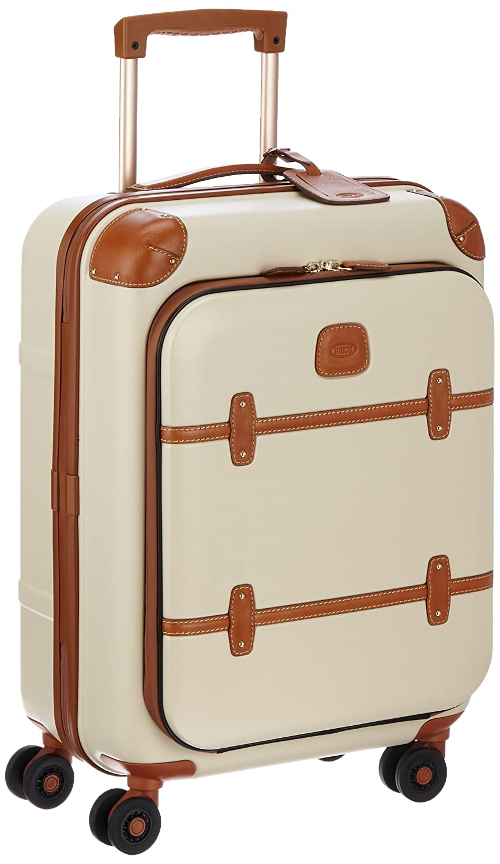 [ブリックス] BRIC'S スーツケース ベラージオフロントポケット付きモデル 機内持込サイズ 43L 3.4kg[2年保証] B014EYKT6W クリーム クリーム