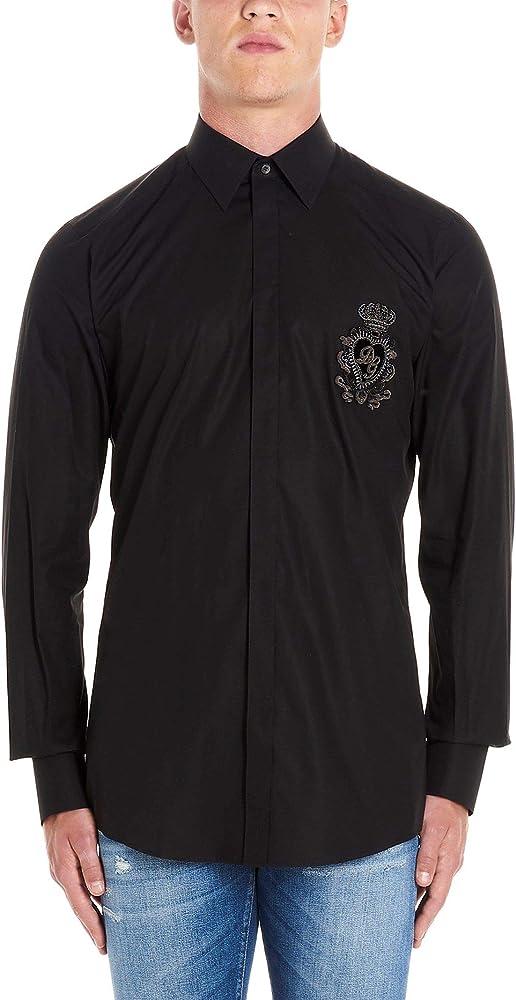 Luxury Fashion | Dolce E Gabbana Hombre G5GE6ZFU5K9N0000 Negro Camisa | Otoño-Invierno 19: Amazon.es: Ropa y accesorios