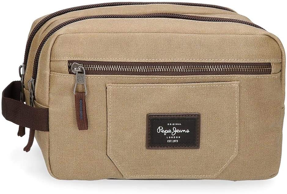 Pepe Jeans JASP Adaptable, Marrón, 26x16x12 cm
