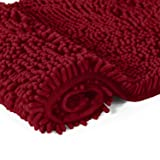 LuxUrux Bathroom Rug Mat Set-Extra-Soft Plush Bath