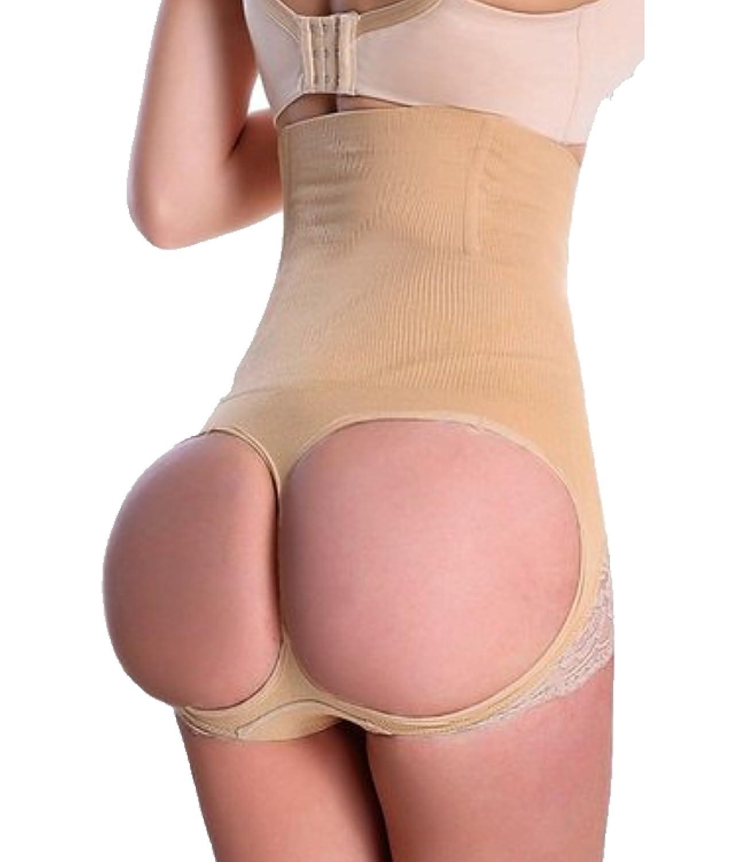 Gotoly Hi-Waist Tummy Control Butt Lifter Thigh Slimmer Shapewear burning fat