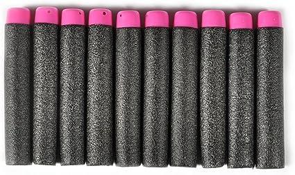10 x 7.2 cm EVA Refill Bullet Darts für Elite Serie Toy Gun//!