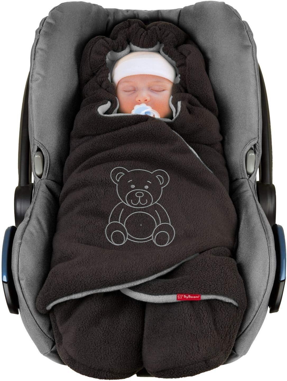 ByBoom Baby Manta arrullo de invierno para bebé, es ideal para sillas de coche (p.ej. de las marcas Maxi-Cosi y Römer), para cochecitos de bebé, sillas de paseo o cunas; LA MANTA ARRULLO ORIGINAL CON