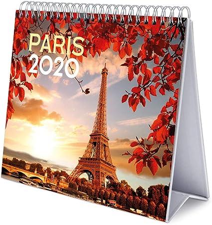 Erik, Calendario de Escritorio Deluxe 2020 Paris, 17x20 cm: Amazon ...