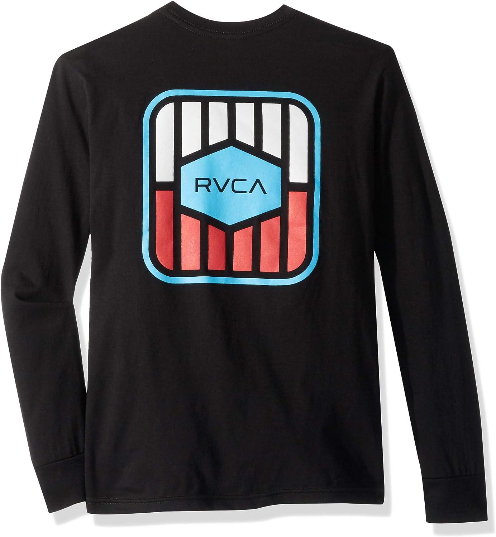 RVCA Boys Big Milton Long Sleeve Tee