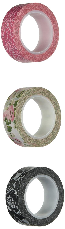 Wrapables Floral Garden Japanischer Washi Tape, Set Set Set von 3 B00BF4VDL0 | Vorzugspreis  45343b