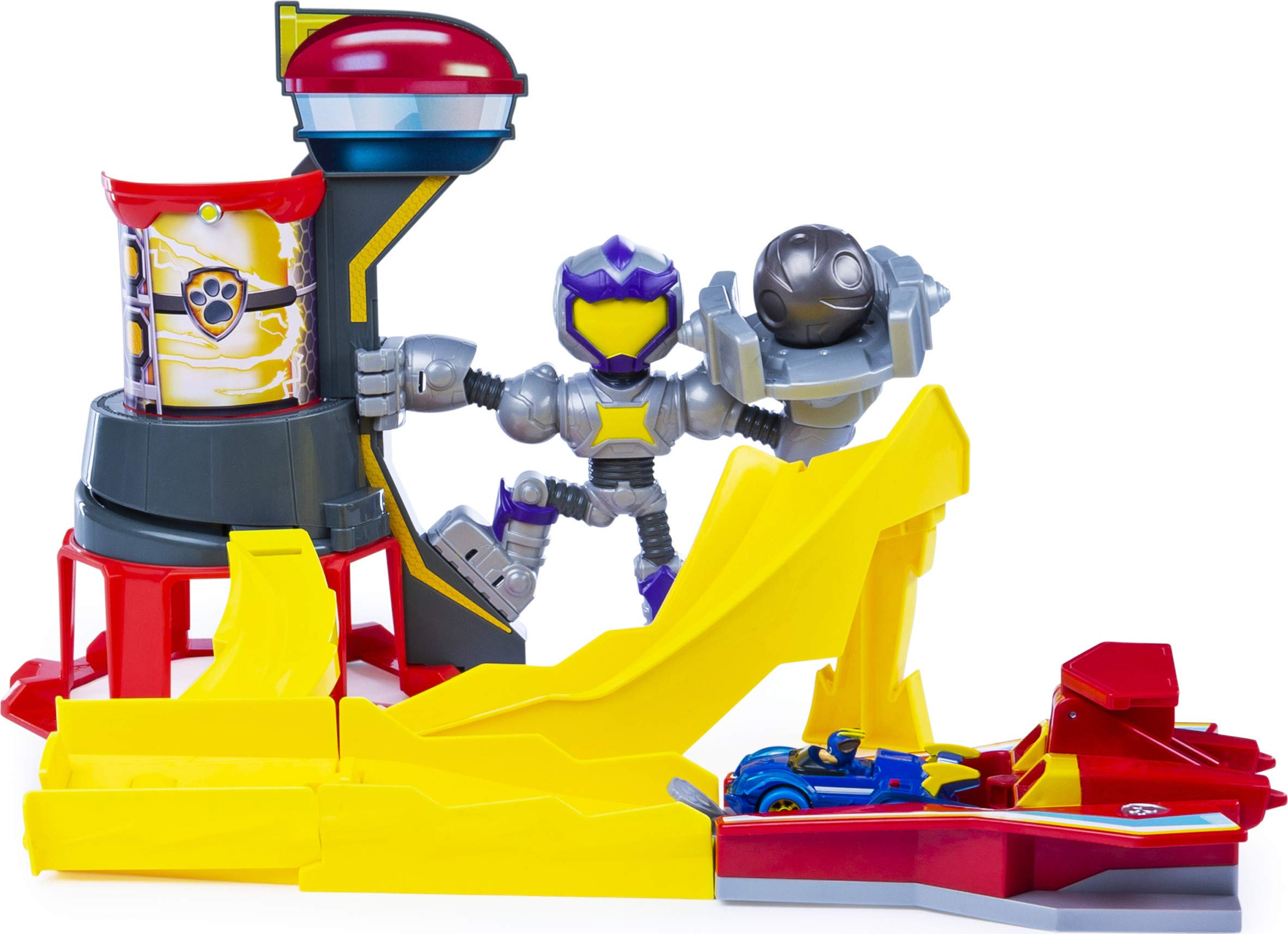 PAW Patrol True Metal Mighty Meteor Die-Cast Track Set with Exclusive Chase Vehicle, 1:55 Scale