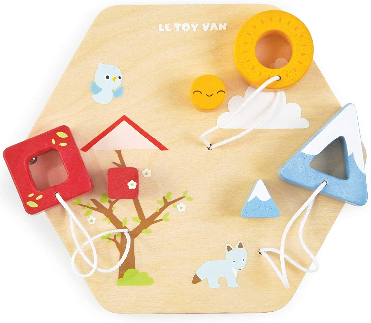 Le Toy Van Xylophone Activity Tile Premium Wooden Toys for Kids Ages 18 Months /& Up