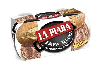 La Piara Tapa Negra Paté de Higaro de Cerdo - Pack de 2 x 115 g