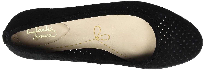 Clarks Damen Damen Clarks Evie Buzz Slipper Schwarz (schwarz Sde) 119df5