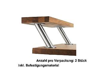 Lieblich IKEA CAPITA Barkonsole 2er Set Schräg Konsole Edelstahl Stütze Baraufbau  Tresen Bar Aufsatz Stützen Neu U0026