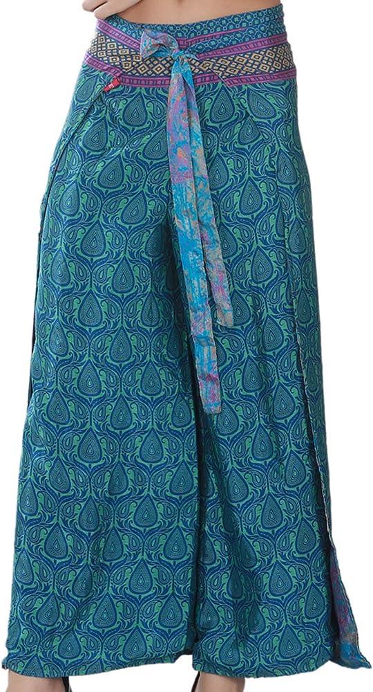 boho open pants Boho Wrap pants Beach pants Open Leg Pants bohemian wrap around pants hippie vacation pants