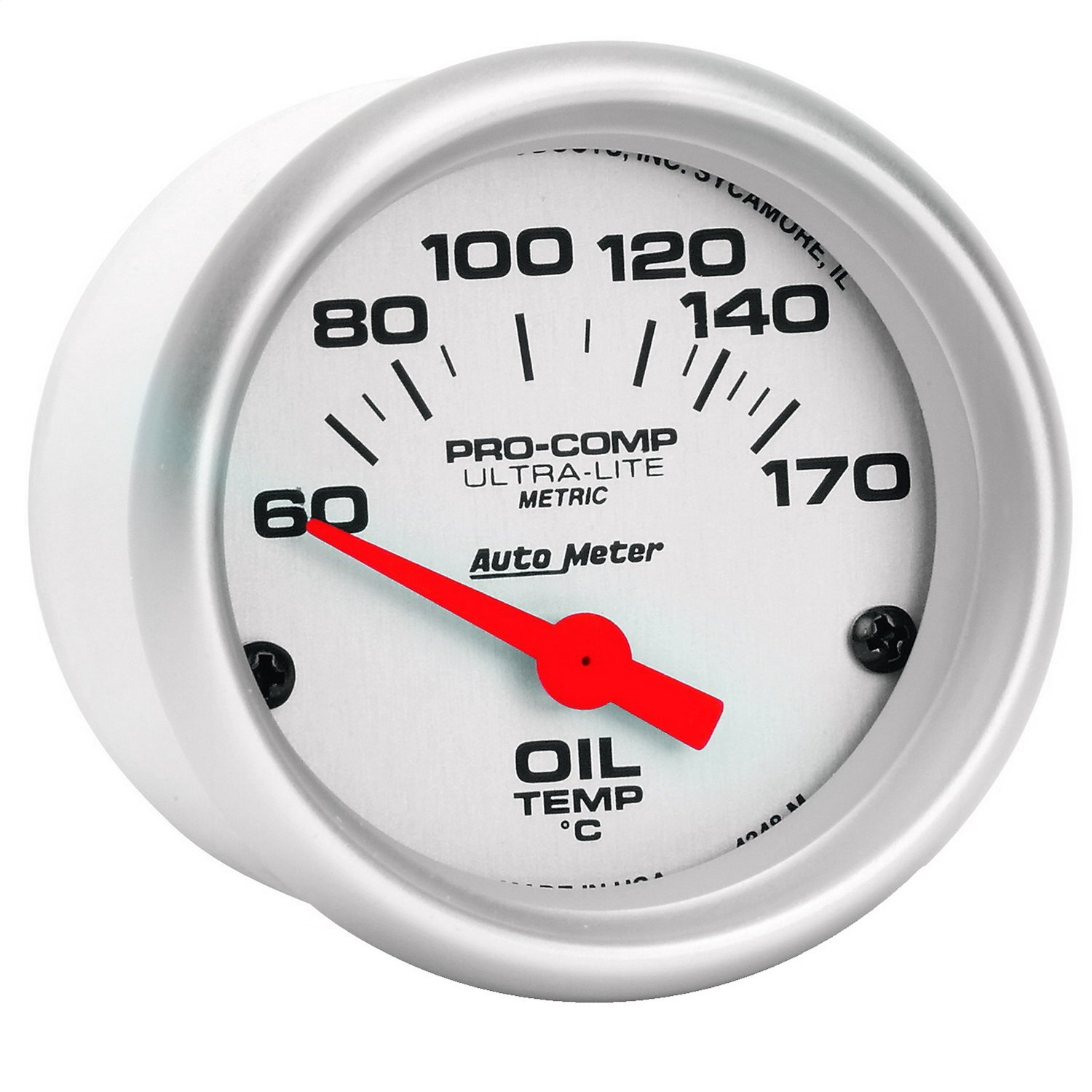Auto Meter 4348-M Ultra-Lite 2' 60-170° C Oil Temperature Gauge