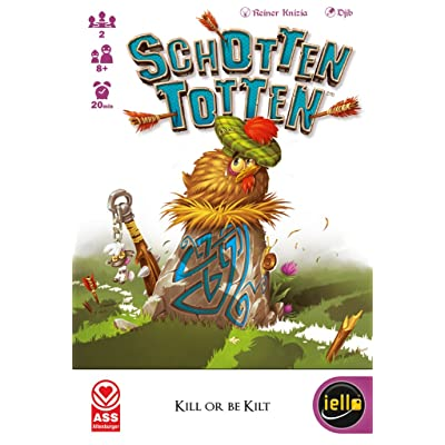 IELLO Schotten Totten Basic Board Game: Toys & Games [5Bkhe0305398]