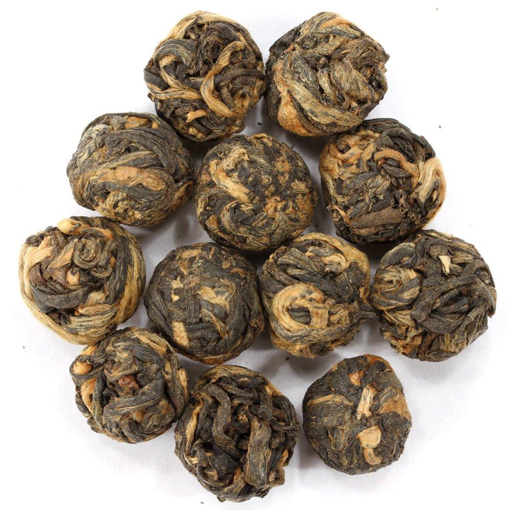 Adagio Teas Black Dragon Pearls Loose Black Tea, 16 oz. by Adagio Teas