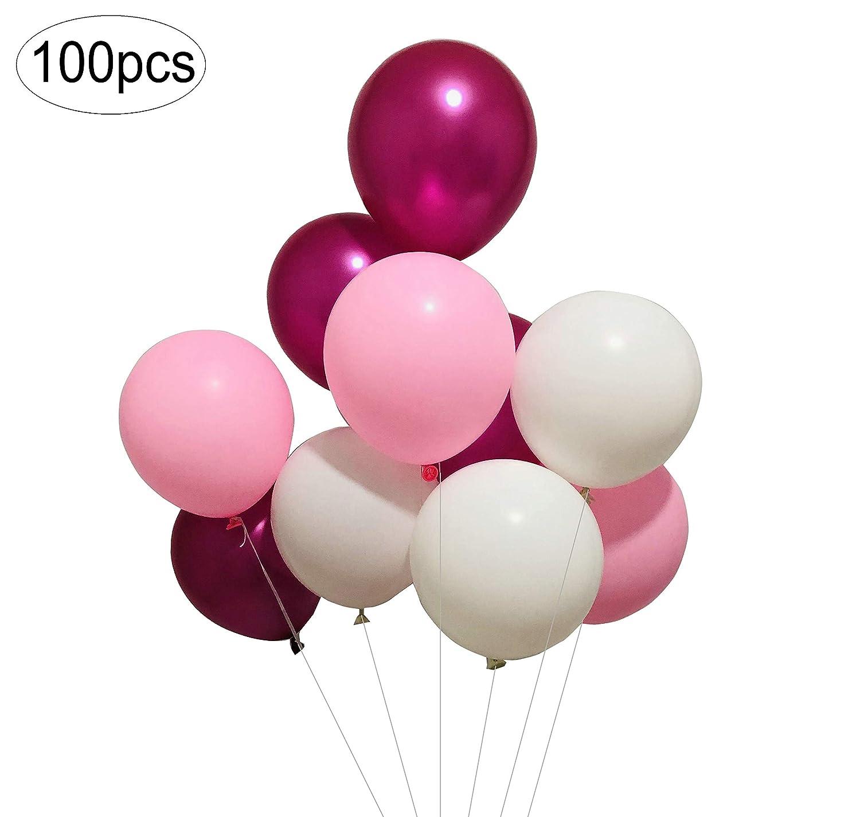 パステルバルーン 100個 10インチ パステルカラーバルーン パステルパーティーデコレーション パステル誕生日デコレーション パステルベビーシャワーデコレーション パステル誕生日バルーン Sogorge  マルチ B07Q1N3HP7