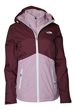 96922b4f2ba The North Face Women s Sansa Triclimate 3 in 1 System Jacket (Deep Garnet  Red