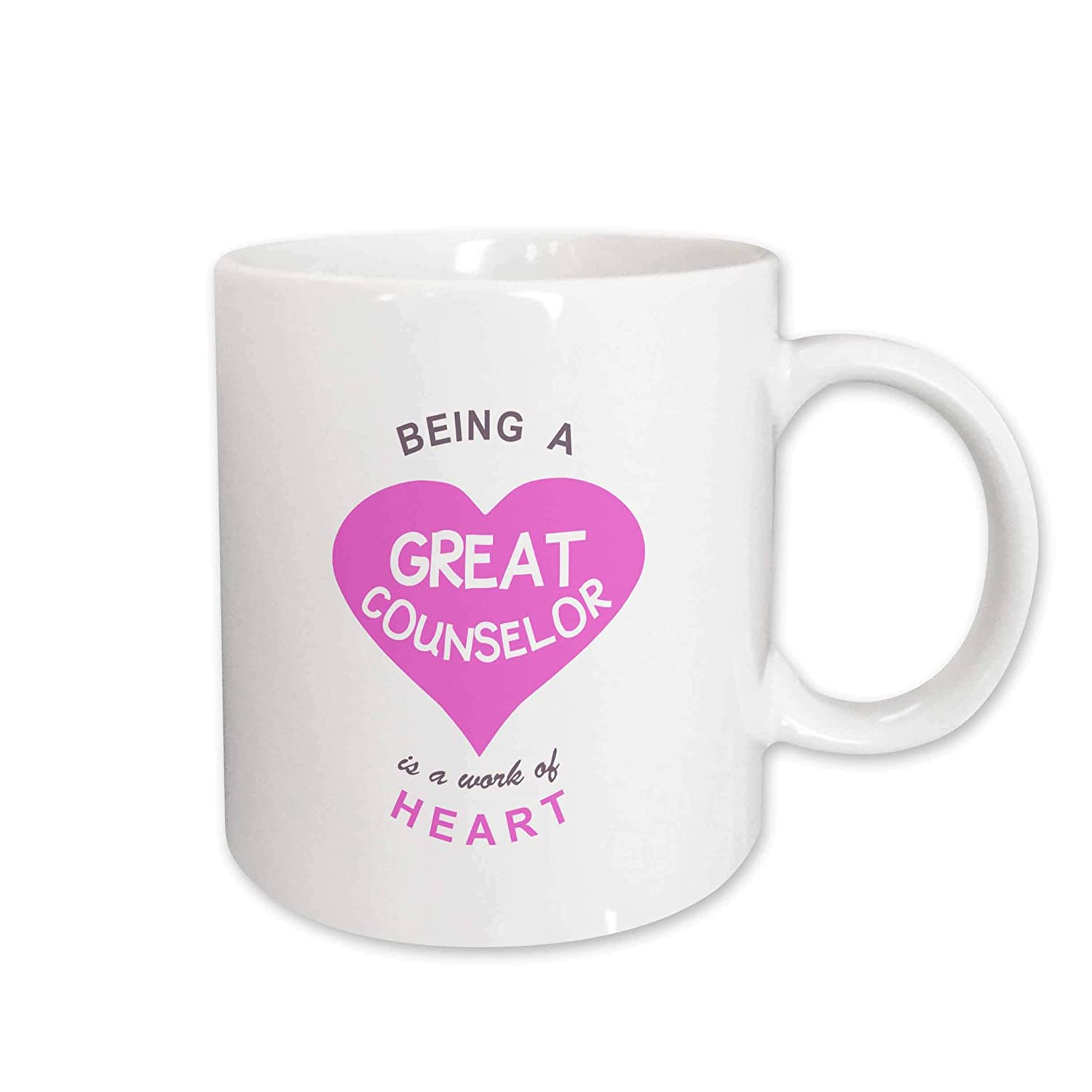 Amazon 3drose Mug1838621 Being A Great Counselor Is A Work Of