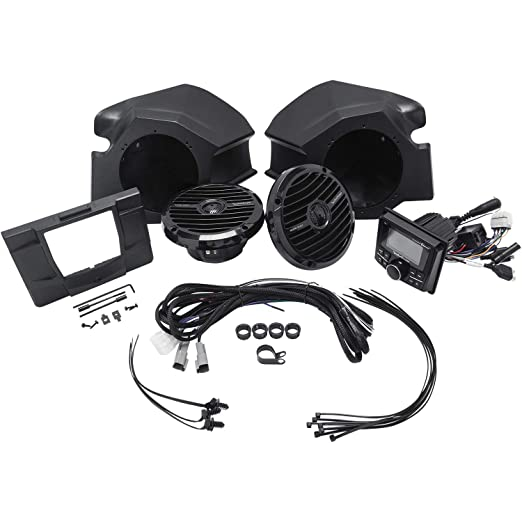 Amazon Com Rockford Fosgate Rzr Stage2 Stereo And Front Speaker Kit