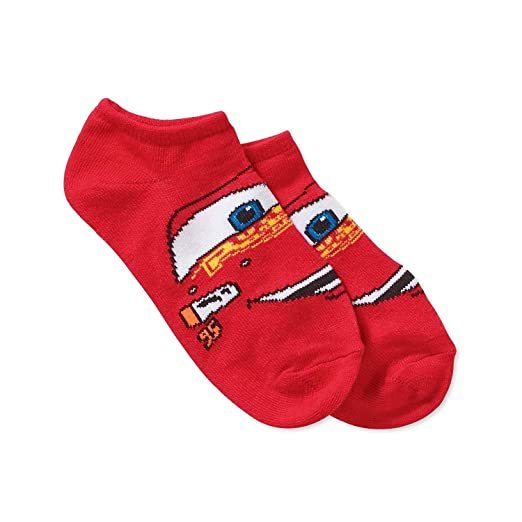 Amazon.com: Disney Cars Boys No show Socks 7 pairs McQueen Small 4-7 1/2: Clothing