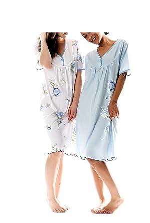 48868c52c9f85a Consult-Tex Damen Nachthemd Baumwolle 2 Stück Packung DF844-845 ...