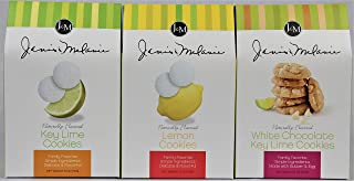 product image for J&M Foods Gourmet Cookies 6 Oz. Flavor Assortment Simple Ingridients Consistent Quality Key Lime, Lemon, White Chocolate Tea Cookies