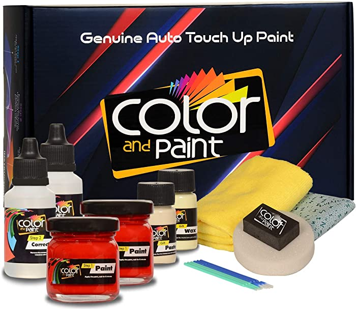 Color and Paint Compatible with/Ford America Mustang/Dark Candy Apple RED MET - G2 / Touch UP Paint System for Paint Chips and Scratches/PRO Care