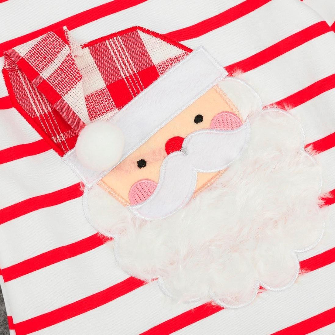 Toddler Kids Baby Girls Striped Princess Dress Christmas Outfits Clothes CSSD Girls Princess Dresses
