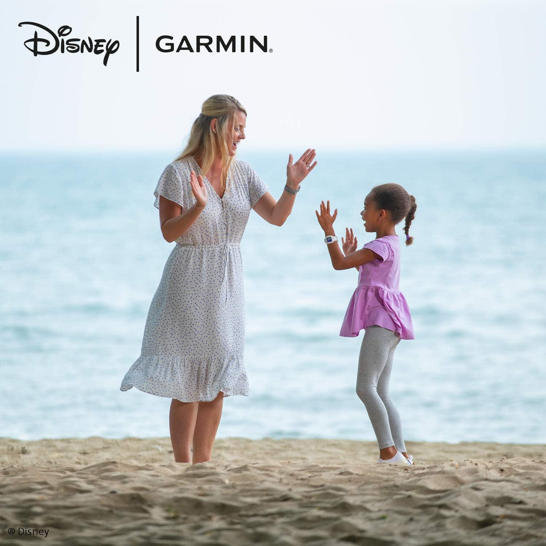 Garmin Vívofit Jr 3 Disney Prinzessin Arielle Wasserdichter Digitaler Aktivitätstracker Für Kinder Ab 4 Jahren Schrittzähler Großes 1 4 Cm Display Notfallkontakt Bis Zu 1 Jahr Batterie Quiz Navigation