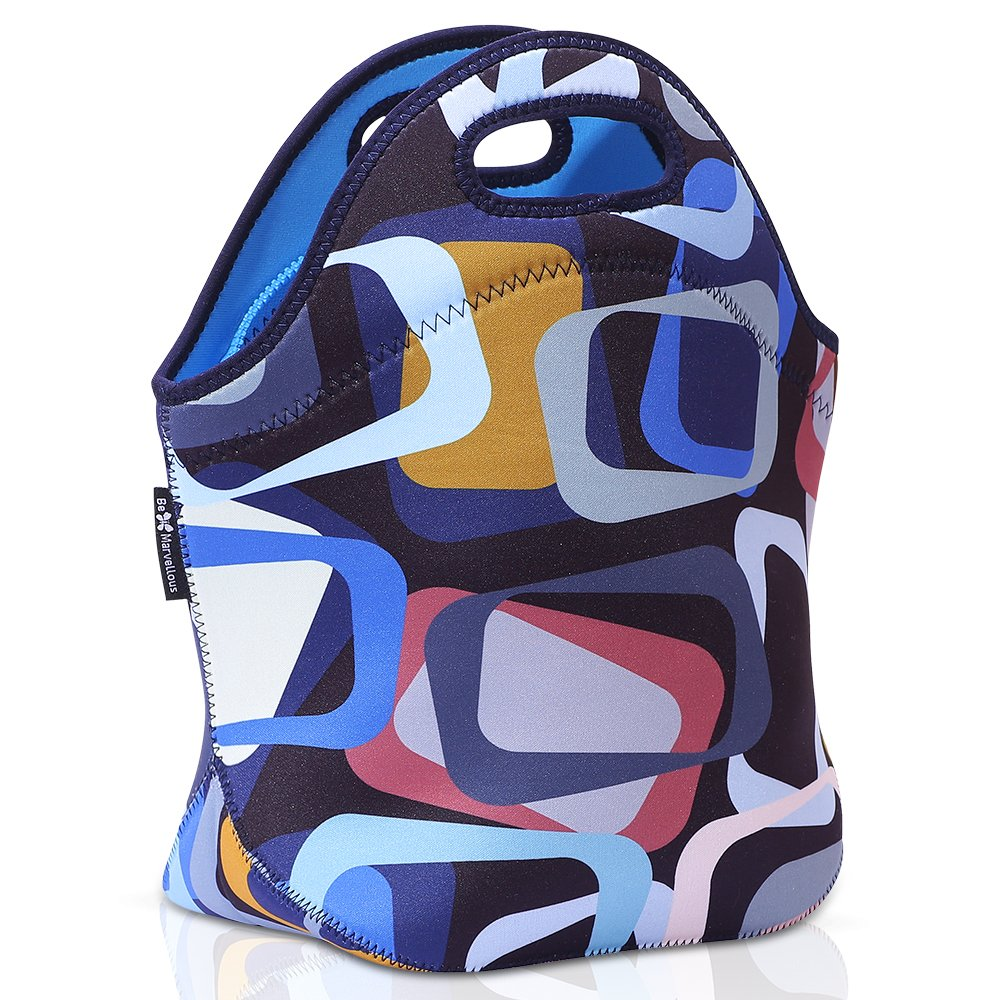 Lunch Bags for Women-Lunch Boxes for Kids Adults - Neoprene Lunch bag- Adult lunch box-Insulated Lunch Tote -Urban Motives