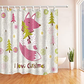 Amazon GoEoo Christmas Decor Cartoon Lovely Squirrel Shower