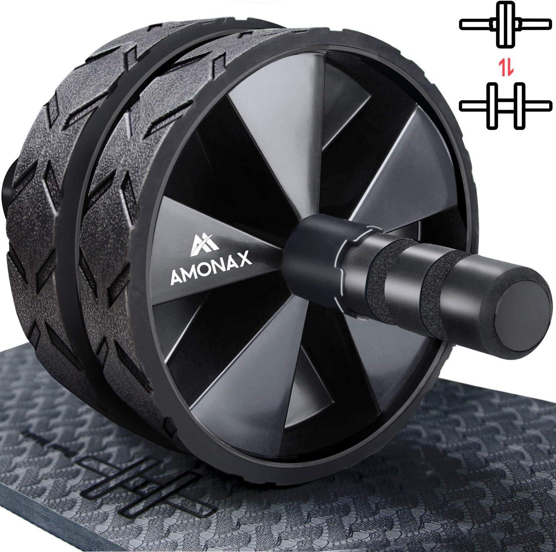 Amonax - Rodillera convertible para abdominales (con alfombrilla ...