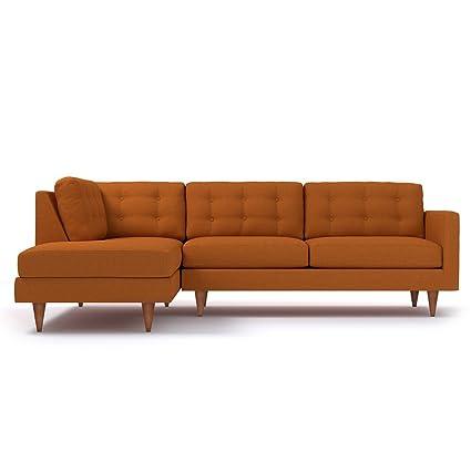 Apt2B Logan 2pc Sectional Sofa, LAF   Left Arm Facing, Sweet Potato