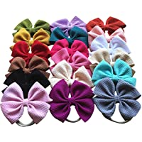 Toptim Baby Girl's Headbands and Bows for Newborn Infant Toddler Photographic Accessories (18 Pack-TP3)