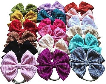 Hair bow Headband baby shower gift Baby Girl Headband Pink Bow Headband Toddler Headband hair accessorie Newborn Headband