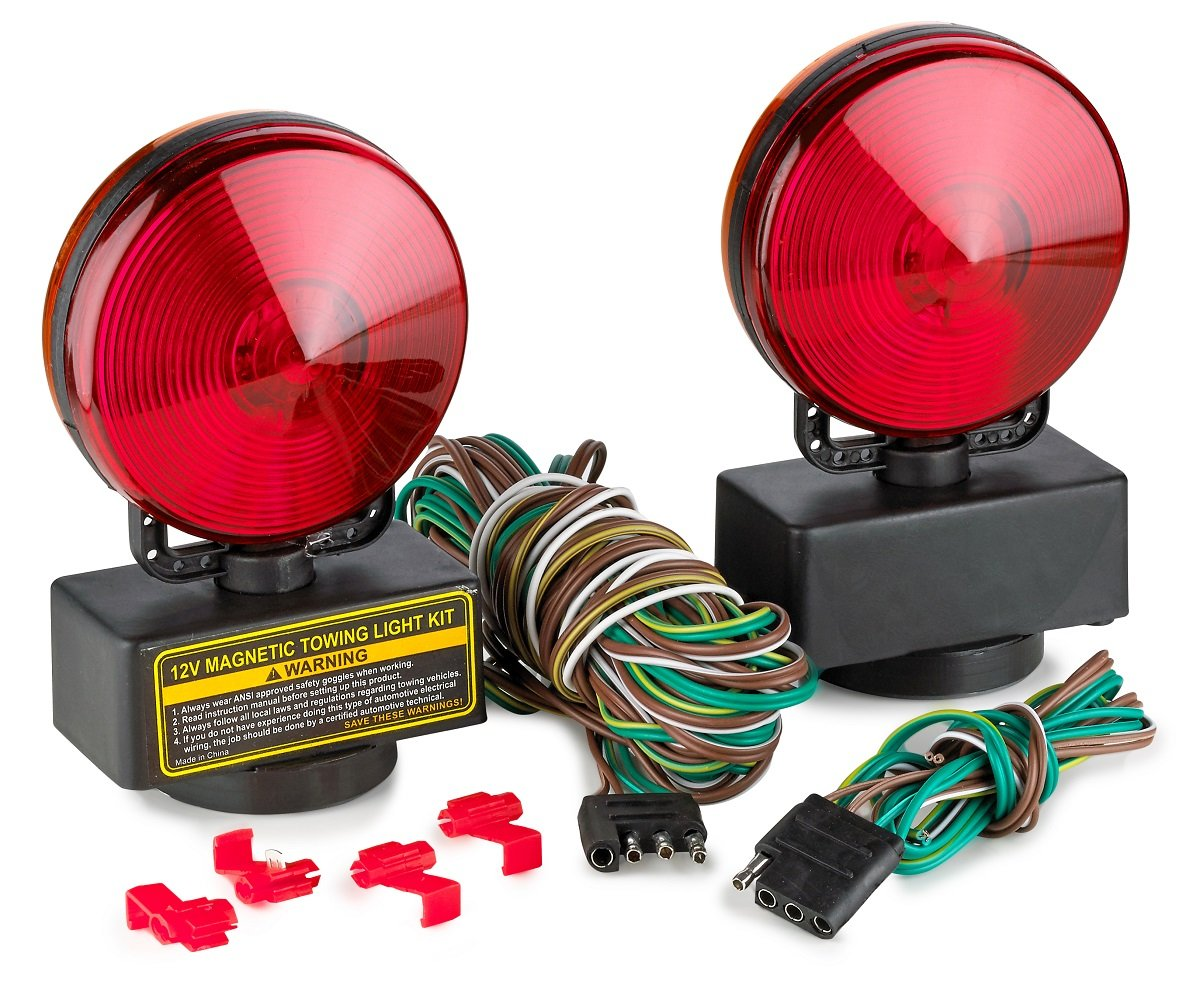 amazon com 12v trailer lights magnetic ideal for towing rh amazon com