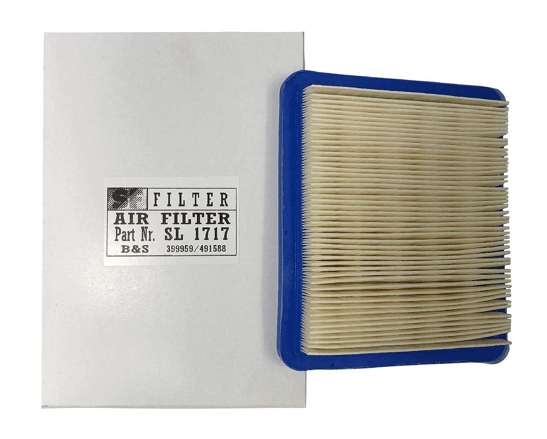 BBT - Filtro de aire compatible con motores Honda GC160, GCV135 ...