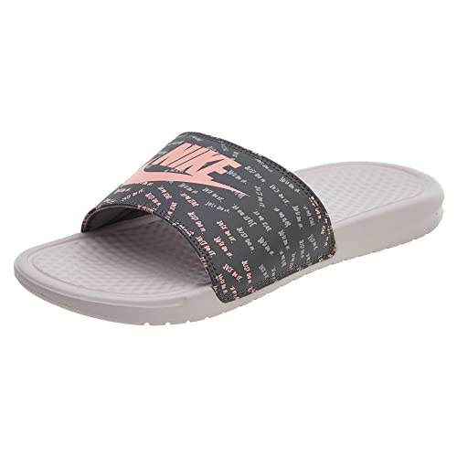 b663ea47ec06 Nike Benassi JDI Print Womens Slide Rose Anthracite - 8.5 UK  Amazon ...