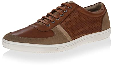 Kenneth Cole New York Mens Yell Out Sneaker Cognac
