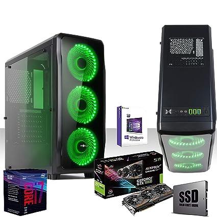 PC de sobremesa gaming intel i7-8700 4,6 GHz 8°gen/asus strix ...