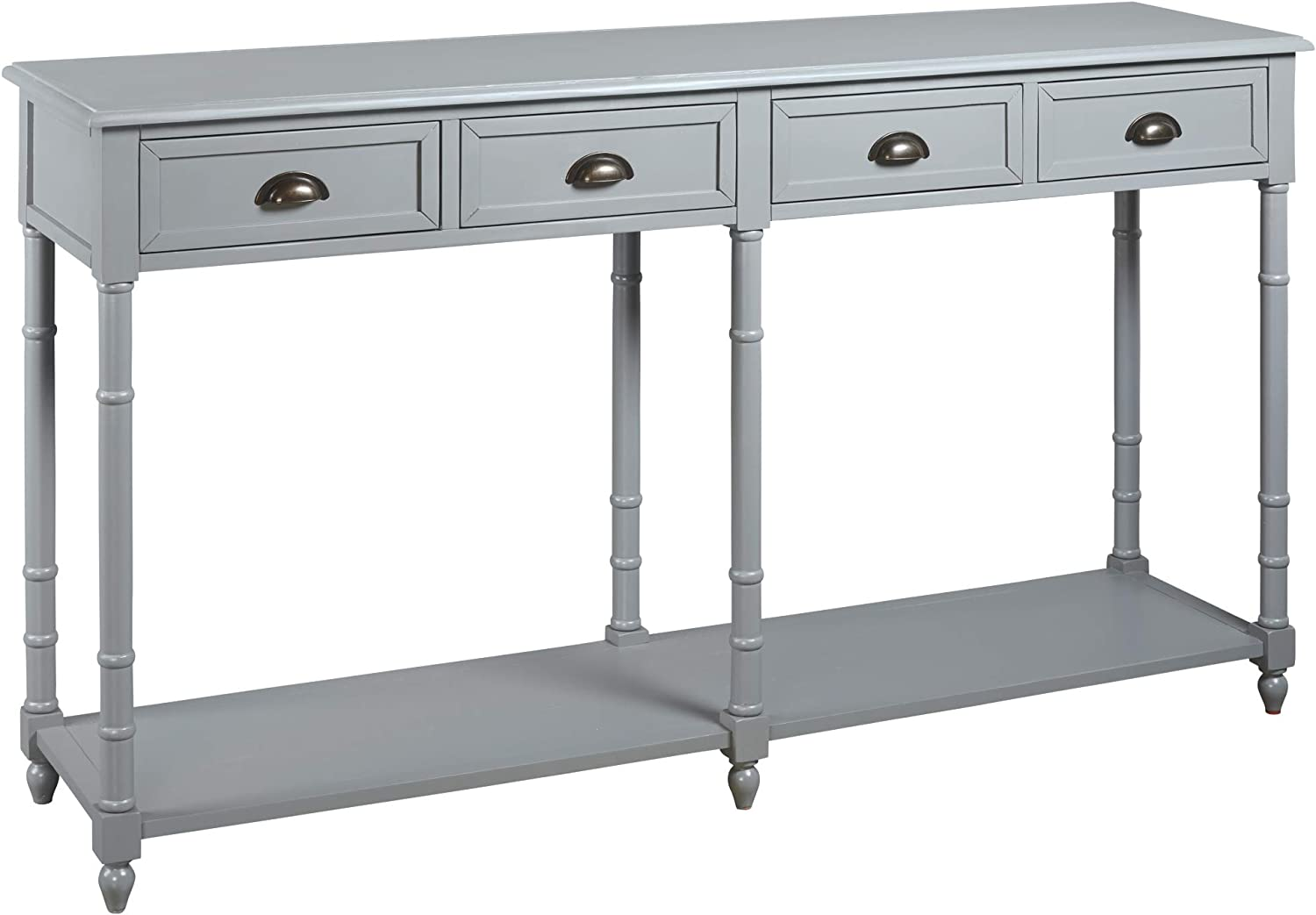 Signature Design By Ashley Eirdale Console Sofa Table Vintage Casual Gray Furniture Decor