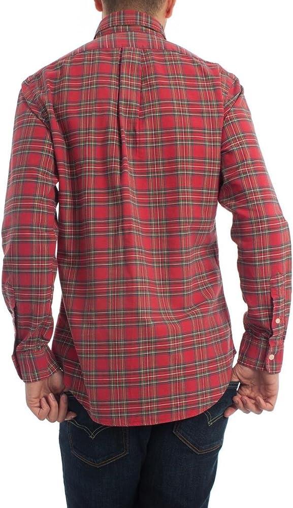 Camisa Polo Ralph Lauren Cuadros Rojos XL Rojo: Amazon.es: Ropa y accesorios