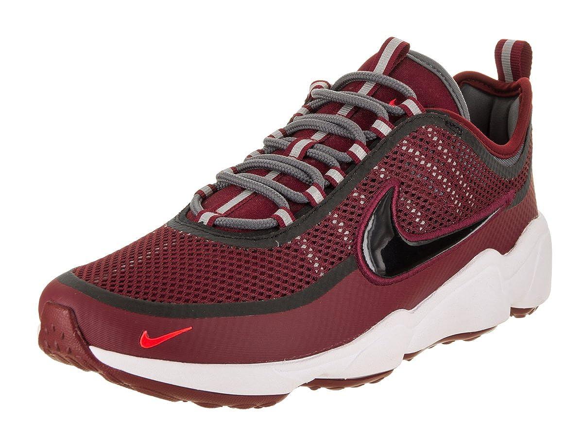 new product 54308 a23e2 Amazon.com  NIKE Zoom Spiridon Ultra Mens Shoes Team RedDark GreyBright  CrimsonBlack 876267-600  Road Running