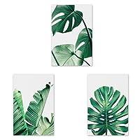 Dabixx verde foglia tela pittura a olio di arte della parete immagine stampe su tela moderna immagini a parete per soggiorno senza cornice