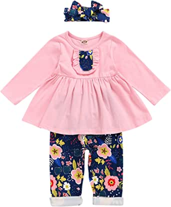 Toddler Baby Girls Easter Outfit Floral Dress Sequin Pink Lace Tutu Princess Formal Dresses Party Ball Gown
