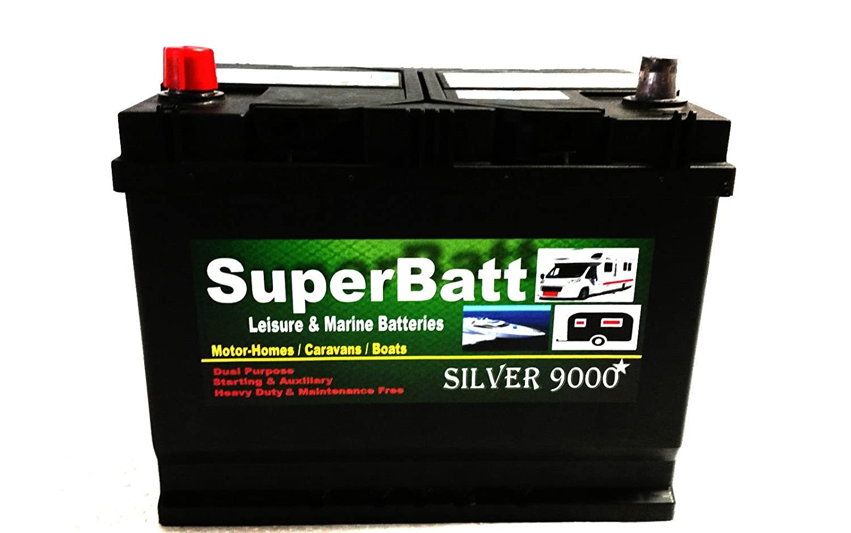 12V 85AH SuperBatt CB22MF Leisure Battery Caravan Motorhome Marine Boat Royalbattery