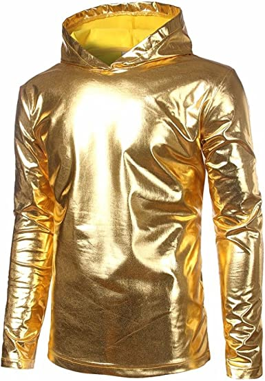 Camisas de Hombres, Dragon868 Sudaderas de Cuero Hip Hop Inconformista Camisetas de Moda, Camisetas Manga largas Hombre, Trajes Disfraz Alien Disfraces de Carnaval: Amazon.es: Ropa y accesorios